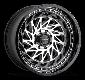Centerline Custom Wheels 848MB LT8 MACHINED BLACK