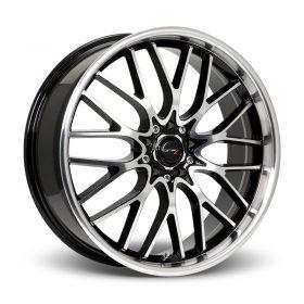 Drifz Custom Wheels 302MB Vortex MACHINED BLACK