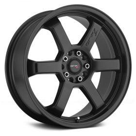Drifz Custom Wheels 303B Hole Shot SATIN BLACK
