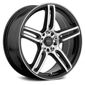 Drifz Custom Wheels 307MB Tech R MACHINED BLACK
