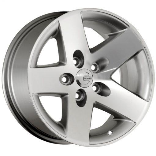 Mamba Custom Wheels 581S MR1X SILVER