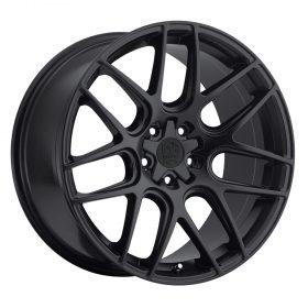 Motiv Custom Wheels 409B Magellan SATIN BLACK