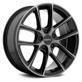 Motiv Custom Wheels 420MBDT Murano MACHINED BLACK TINTED