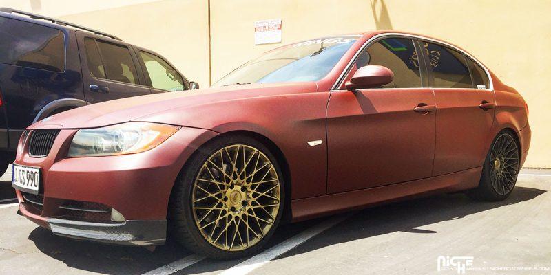 BMW 3-Series 19x8.5 Niche Citrine M155 Wheels
