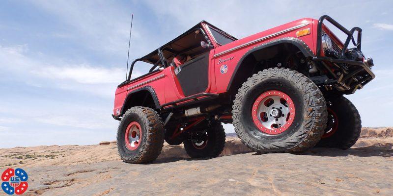 Ford Bronco 17x9 USMAG Indy U101 Truck Wheels