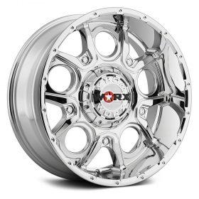 Worx Custom Wheels 809C Rebel CHROME