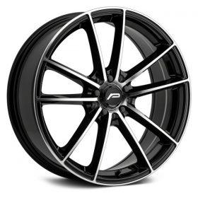 Pacer Custom Wheels 792MB Infinity MACHINED BLACK