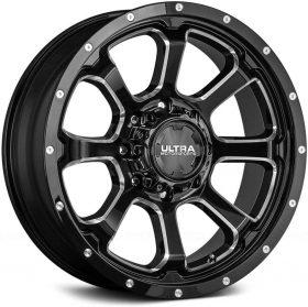 Ultra Custom Wheels 219BM Nemesis BLACK MILLED