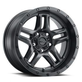 Ultra Custom Wheels 258SB Prowler Lifted SATIN BLACK