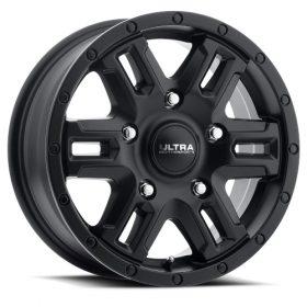 Ultra Custom Wheels 470SB Judgement Van SATIN BLACK