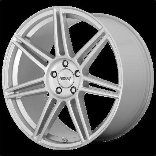 American Racing Wheels AR935 REDLINE BRUSHED SILVER