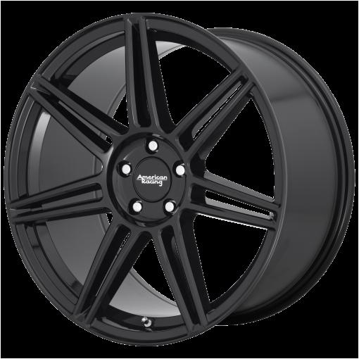 American Racing Wheels AR935 REDLINE GLOSS BLACK