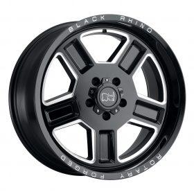 Black Rhino Custom Wheels CANON GLOSS BLACK W/MILLED SPOKE