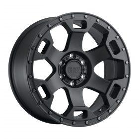 Black Rhino Custom Wheels GAUNTLET SEMI GLOSS BLACK W/GUNMETAL BOLT