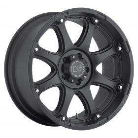 Black Rhino Custom Wheels GLAMIS MATTE BLACK