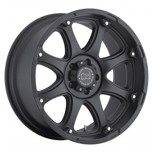 Black Rhino Wheels GLAMIS MATTE BLACK