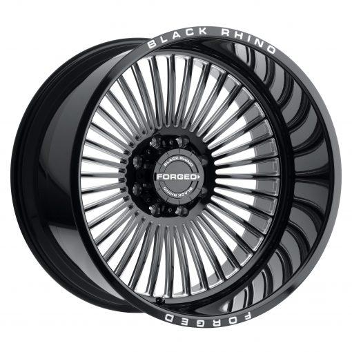 Black Rhino Wheels HORUS GLOSS BLACK W/MILLED SPOKES