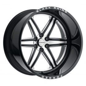 Black Rhino Custom Wheels MARAUDER GLOSS BLACK W/MILLED SPOKES