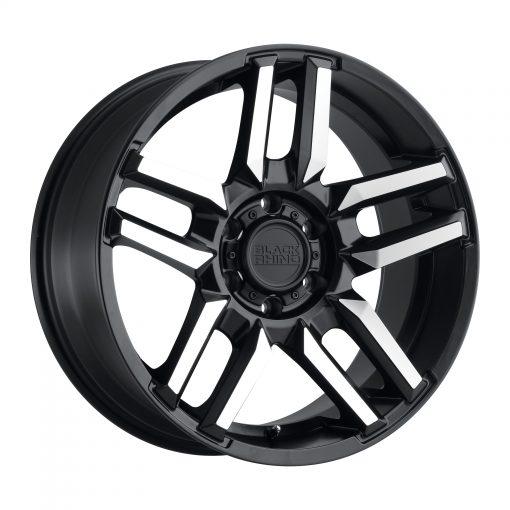 Black Rhino Custom Wheels MESA MATTE BLACK W/MACHINED FACE