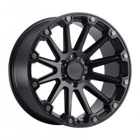 Black Rhino Custom Wheels PINNACLE SEMI GLOSS BLACK W/GUNMETAL BOLTS