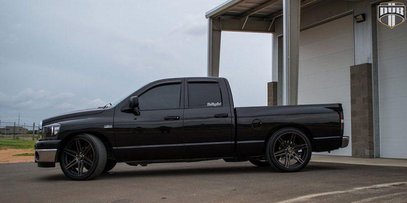 Dodge Ram 1500 24x10 DUB Skillz S123 Wheels