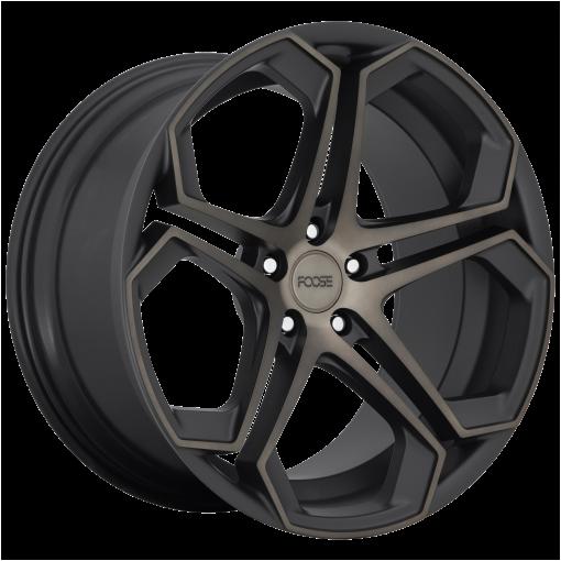 Foose Wheels F168 IMPALA MATTE MACHINED DOUBLE DARK TINT