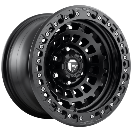Fuel Wheels D101 ZEPHYR BL - OFF ROAD ONLY MATTE BLACK