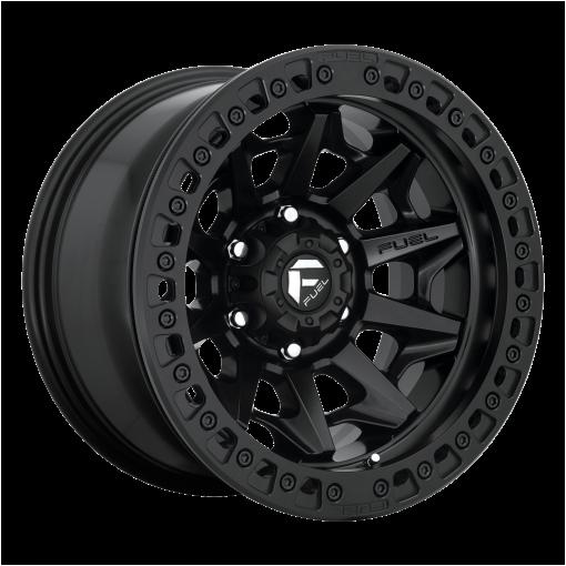 Fuel Wheels D114 COVERT BL - OFF ROAD ONLY MATTE BLACK