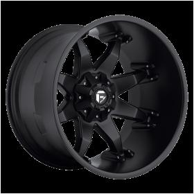 Fuel Custom Wheels D509 OCTANE MATTE BLACK