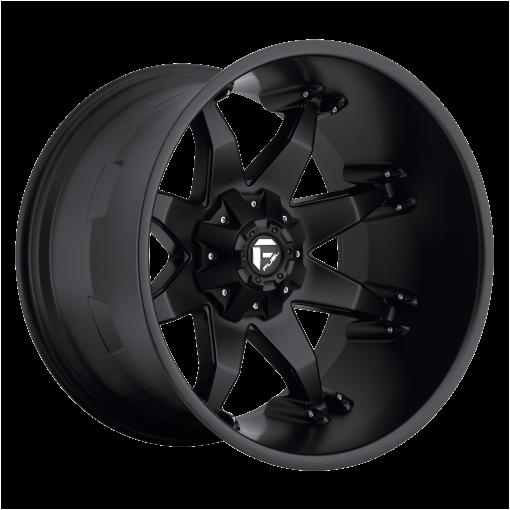 Fuel Wheels D509 OCTANE MATTE BLACK