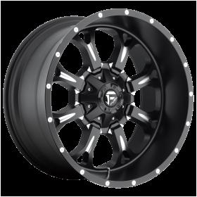 Fuel Wheels D517 KRANK MATTE BLACK MILLED