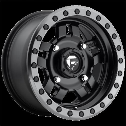 Fuel Wheels D557 ANZA MATTE BLACK GUN METAL RING