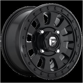 Fuel Custom Wheels D630 TACTIC MATTE BLACK