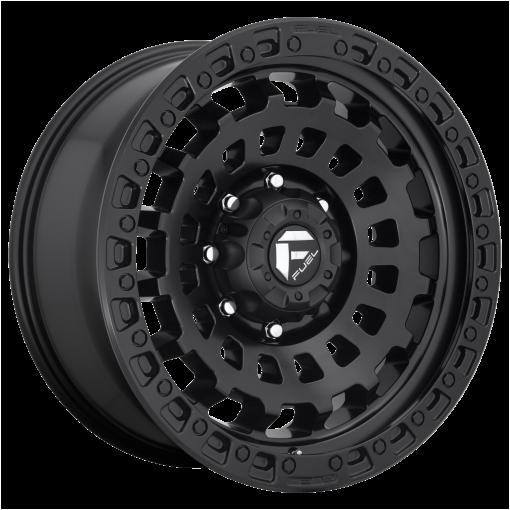 Fuel Wheels D633 ZEPHYR MATTE BLACK