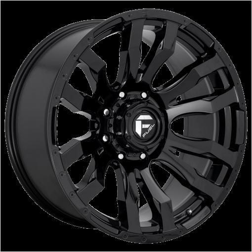 Fuel Wheels D675 BLITZ GLOSS BLACK