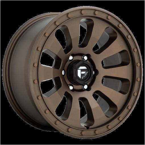 Fuel Wheels D678 TACTIC MATTE BRONZE