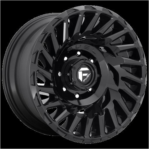 Fuel Wheels D682 CYCLONE GLOSS BLACK