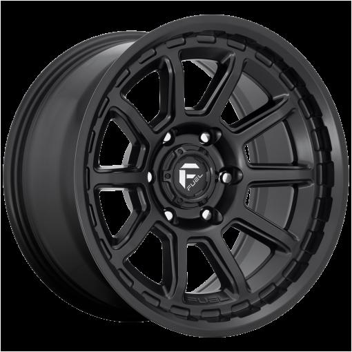 Fuel Wheels D689 TORQUE MATTE BLACK