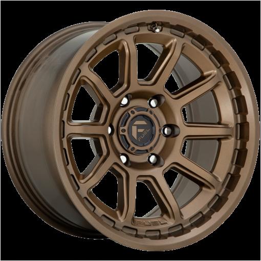 Fuel Wheels D690 TORQUE MATTE BRONZE