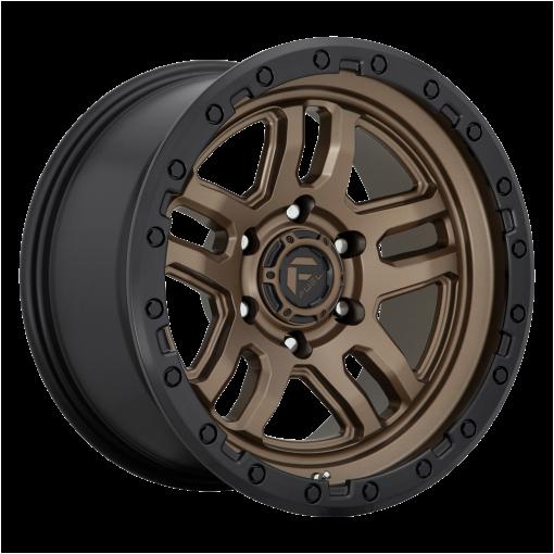 Fuel Wheels D702 AMMO MATTE BRONZE BLACK BEAD RING