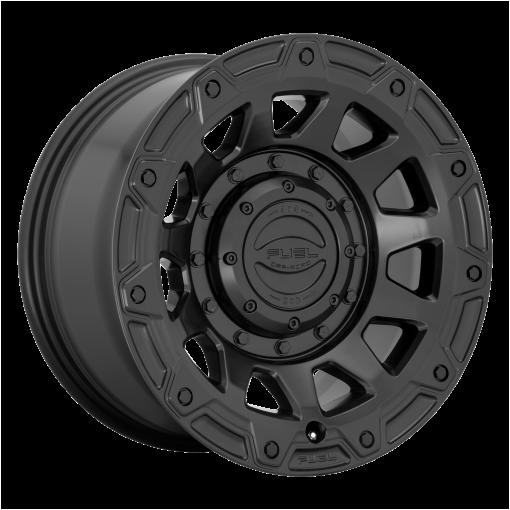 Fuel Wheels D729 TRACKER SATIN BLACK