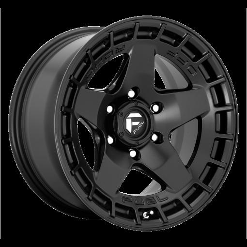 Fuel Wheels D733 WARP SATIN BLACK
