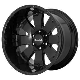 HELO Custom Wheels HE917 GLOSS BLACK