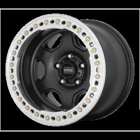KMC Custom Wheels KM233 HEX SATIN BLACK
