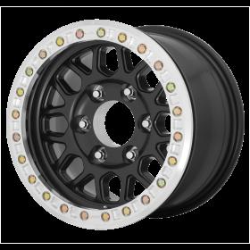 KMC Custom Wheels KM234 GRENADE DESERT SATIN BLACK