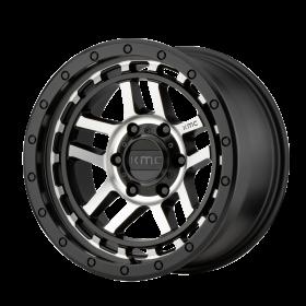 KMC Wheels KM540 RECON Satin Black Machined
