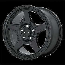 KMC Custom Wheels KM721 ALPINE SATIN BLACK