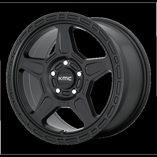 KMC Wheels KM721 ALPINE SATIN BLACK
