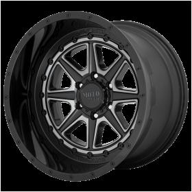 Moto Metal Custom Wheels MO801 PHANTOM GLOSS BLACK WITH GRAY TINT