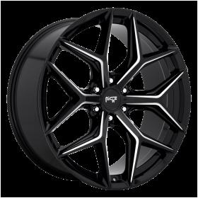 Niche Custom Wheels M232 VICE SUV GLOSS BLACK MILLED